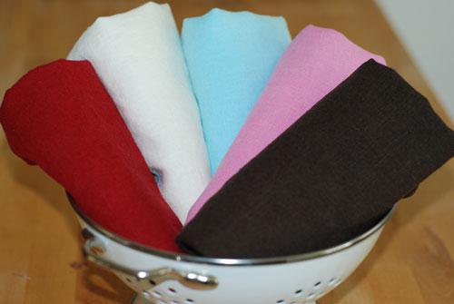 Organic Linen Solid Mixed Fabric Bundle.....1/2 yard cuts-organic, linen, fabric, solid, blue, pink, white, brown, red, european