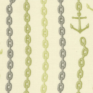 Moda Tula Pink 23034-13 Neptune Cotton Fabric-tula pink, neptune, anchors, cotton, fabric, moda, sewing,