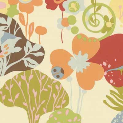 Moda Momo's Wonderland 32100-11 Cotton Fabric-moda, momo's, wonderland, whimsical, quilting, sewing, fabric