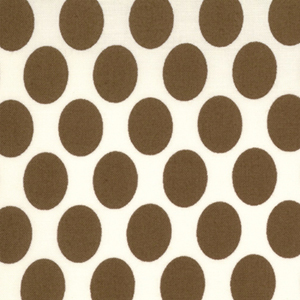 Momo's It's A Hoot Fudge Dots Cotton Fabric 32375-20-