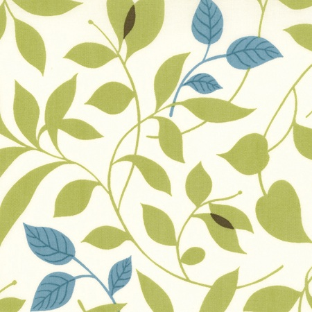 Moda Chrysalis by Sanae Cotton Fabric Butterfly Garden Cream 32421-17-moda, sanae, chrysalis, fabric, cotton,