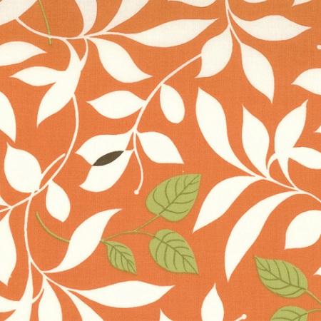 Moda Chrysalis by Sanae Cotton Fabric Butterfly Garden Orange 32421-19-   moda, sanae, chrysalis, fabric, cotton,