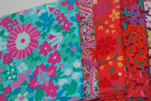 Liberty Art Cotton Fabric Liberty of London FQ Bundle-cotton, fabric, liberty arts, liberty of london, cotton, fabric, kaffe fassett, marylebone, vintage,