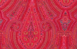 Liberty Art Fabrics Marylebone RAJAH Red Cotton Fabric LB11-liberty art, cotton, fabric, red, rajah, kaffe fassett, liberty of london