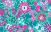Liberty Art Marylebone Katy Aqua Cotton Fabric Libery of London and Kaffe Fassett LB21Aqua-cotton, fabric, liberty of london, quilting, sewing, patchwork, liberty arts, marylebone, kaffe fass