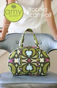 Amy Butler Sophia Carry All Handbag Sewing Pattern-amy butler, sewing, pattern, handbag, carry-all, sophia, handmade, diy, designer, bag, sheree's alch