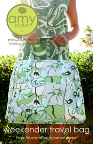 Amy Butler Weekend Bag Sewing Pattern-amy, butler, weekend, bag, sewing, pattern, handbag, overnight bag, handmade, sheree's alchemy, diy,