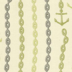 Moda Tula Pink 23034-13 Neptune Cotton Fabric-tula pink, neptune, anchors, cotton, fabric, moda, sewing,