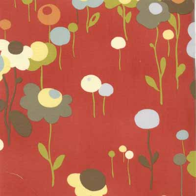 Moda Momo's Wonderland 32102-14 Tomato Red Floral Cotton Fabric-