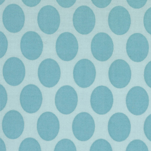 Momo's It's A Hoot Turquoise Dots Cotton Fabric 32375-26-