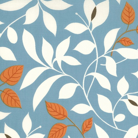 Moda Chrysalis by Sanae Cotton Fabric Butterfly Garden Turquoise 32421-14- 