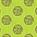 Amy Buttler Soul Blossoms Delhi Blossoms Lime-lime, delhi, blossoms, cotton, fabric, amy, butler