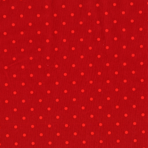 Michael Miller Tiny Dot Fire Cotton Fabric-Michael Miller, dot, tiny, cotton, fabric, fire, red, orange