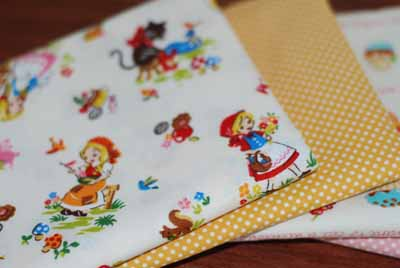 Japanese FQ Mixer 3 Kawaii Cute Bundle-japanese, import, cotton, fabric, fairytale, princess, castles, pink, girls, clothing, sewing, quilt