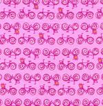 Erin McMorrison Weekends Bikes EM23Violet-erin, mcmorris, weekends, bikes, vintage, violet, free spirit fabrics