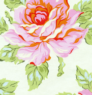 Heather Baily Nicey Jane Hello Roses PInk Cotton Fabric-heather bailey, nicey jane, hello roses, pink, vintage style, cotton, fabric