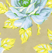 Heather Baily Nicey Jane Hello Roses Dove Cotton Fabric-heather bailey, nicey jane, dove, roses, hello