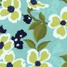 Joel Dewberry Modern Meadow Cotton Fabric Dogwood Blossoms Pond-aqua, floral, dogwood, blossoms, flowers, joel, dewberry, fabric, cotton, quilting, sewing, patchwor