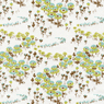 Joel Dewberry Modern Meadow Flower Fields Timber Cotton Fabric-joel, dewberry, modern, meadow, cotton, fabric, timber, flower, fields, flowers, floral, white, tan,
