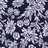 Joel Dewberry Modern Meadow Handpicked Daisies-joel, dewberry, modern, meadow, lake, blue, navy, daisis, flowers, cotton, fabric
