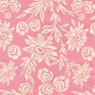 Joel Dewberry Modern Meadow Hand Picked Daisies Pink Cotton Fabric-