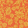 Joel Dewberry Modern Meadow Hand Picked Daisies Sunset Cotton Fabric-