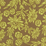 Joel Dewberry Modern Meadow Hand Picked Daisies Timber Cotton Fabric-