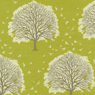 Joel Dewberry Modern Meadow Majestic Oak Cotton Fabric Grass-cotton, fabric, joel, dewberry, modern, meadow, trees, oaks, grass, chartreuse