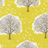 Joel Dewberry Modern Meadow Majestic Oak Cotton Fabric Sunglow-cotton, fabric, tree, modern, meadow, oak, majestic,