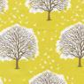 Joel Dewberry Modern Meadow Majestic Oak Cotton Fabric Sunglow-cotton, fabric, tree, modern, meadow, oak, majestic,