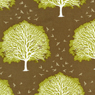 Joel Dewberry Modern Meadow Majestic Oak Cotton Fabric Timber-modern, meadow, cotton, fabric, timber, majestic, oak, joel, dewberry, brown, tan