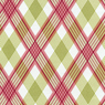 Joel Dewberry Modern Meadow Picnic Plaid Berry Cotton Fabric-picnic, plaid, joel, dewberry, modern, meadow, cotton, fabric, berry, pink