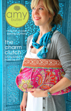 Amy Butler Charm Clutch-amy butler, charm, clutch, handbag, sewing, pattern, contemporary, soul, stitches, fabric, shereesal