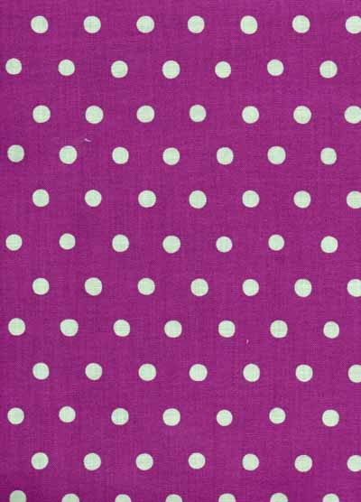 Purple and Blue Echino Dots Cotton/Linen Blend Japanese Fabric-echino,purple, blue, dot, linen, cotton, blend, fabric, japanese, import