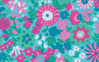 Liberty Art Marylebone Katy Aqua Cotton Fabric Libery of London and Kaffe Fassett LB21Aqua-cotton, fabric, liberty of london, quilting, sewing, patchwork, liberty arts, marylebone, kaffe fass