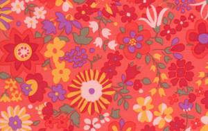 Liberty Art Marylebone Katy Tomato Liberty of London Cotton Fabric Kaffe Fassett  LB21Tomato-cotton, fabric, liberty of london, quilting, sewing, patchwork, liberty arts, marylebone, kaffe fass