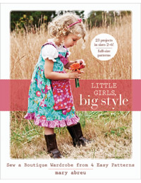Little Girls Big Style by Mary Abreu for Stash Books-mary, abreu, little girls by style, book, stash books, books, stash, boutique, handmade, wardrobe, p