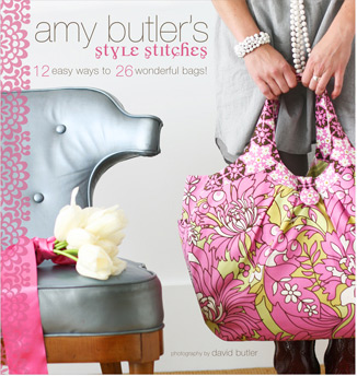 Amy Butler Style Stitches Book-amy butler, style stitches, book, handbags, chronicle, books, sewing, diy, handmade, fabrc, designer