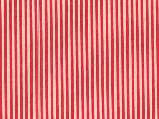 Moda Urban Chiks Sweet Red White Stripe Cotton Fabric-moda, sweet, urban chics, red, white, stripe, cotton, fabric