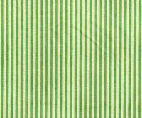 Moda Urban Chiks Sweet Green White Stripe Cotton Fabric-moda, sweet, urban chics, green, white, stripe, cotton, fabric